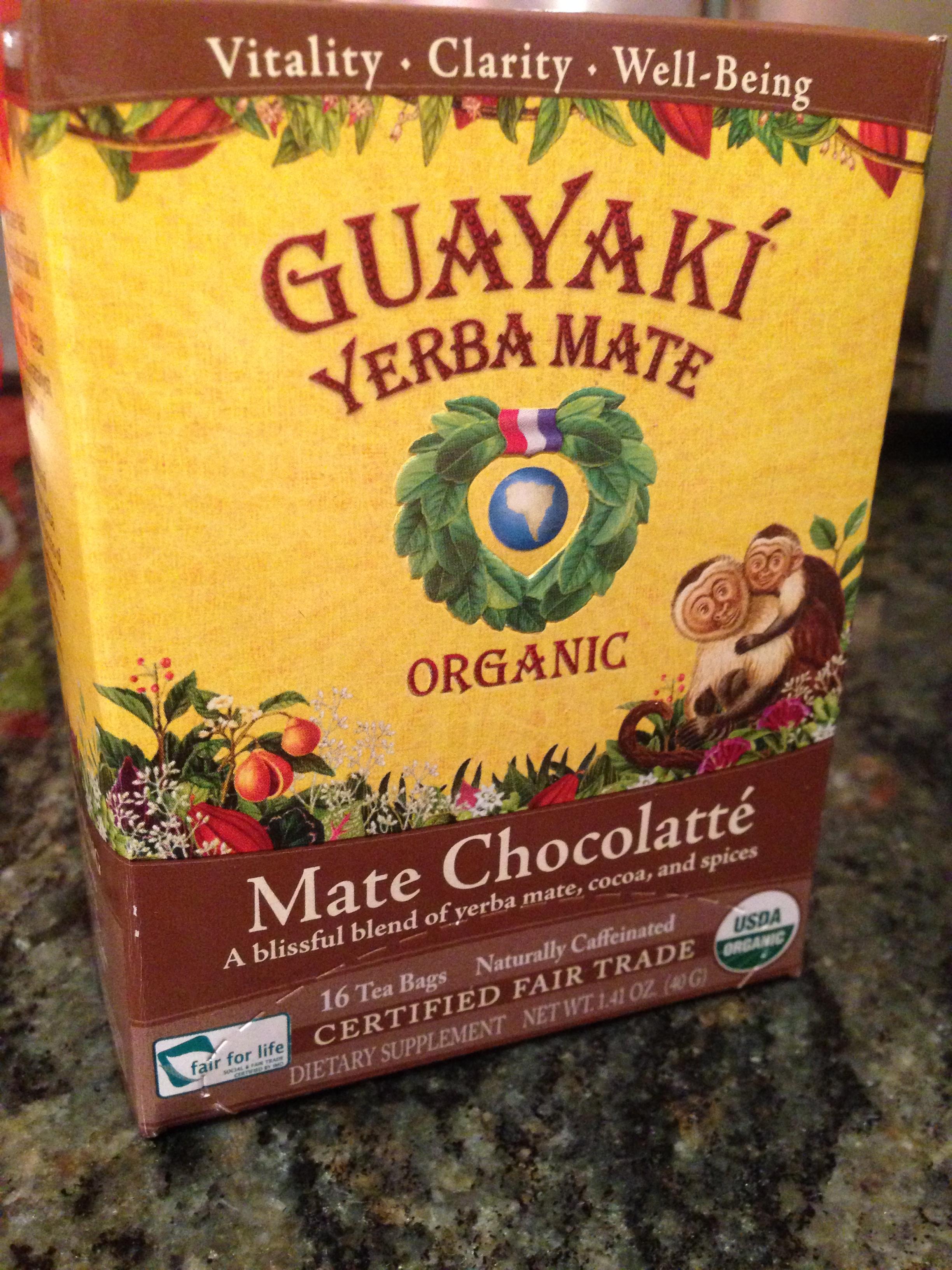 Guayaki mate chocolatte